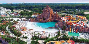 Анталия. Отель с прекрасным аквапарком The Land Of Legends Kingdom Hotel 5