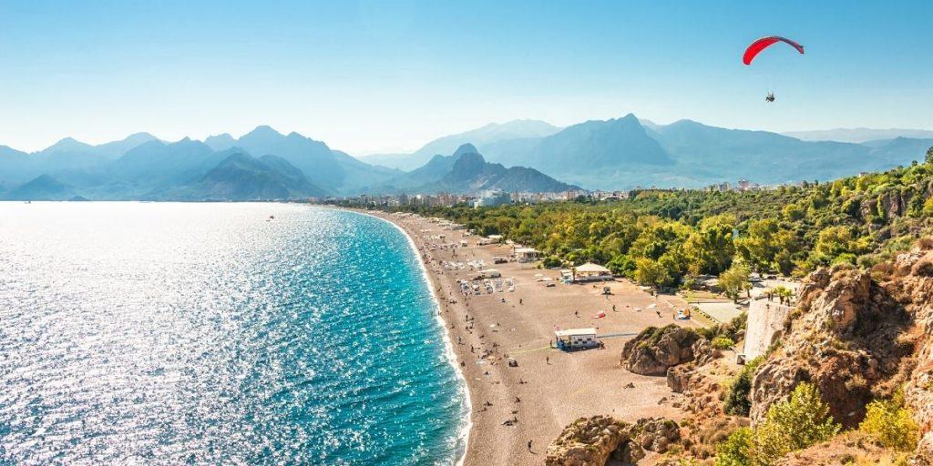 Роскошный Анталийский пляж
