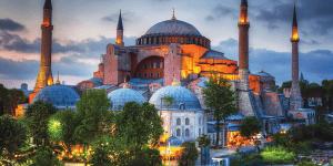 Стамбул. Софийский собор в Константинополе (Ая-София)