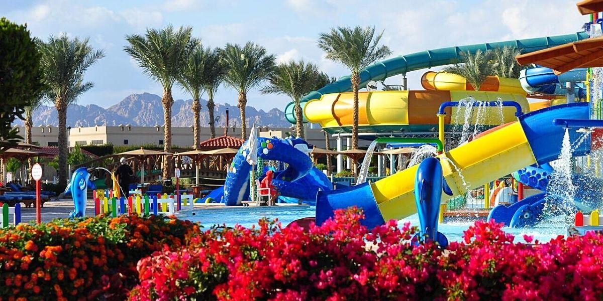 Аквапарк отеля Charmillion Club Aquapark 5* (Шарм-эль-Шейх)