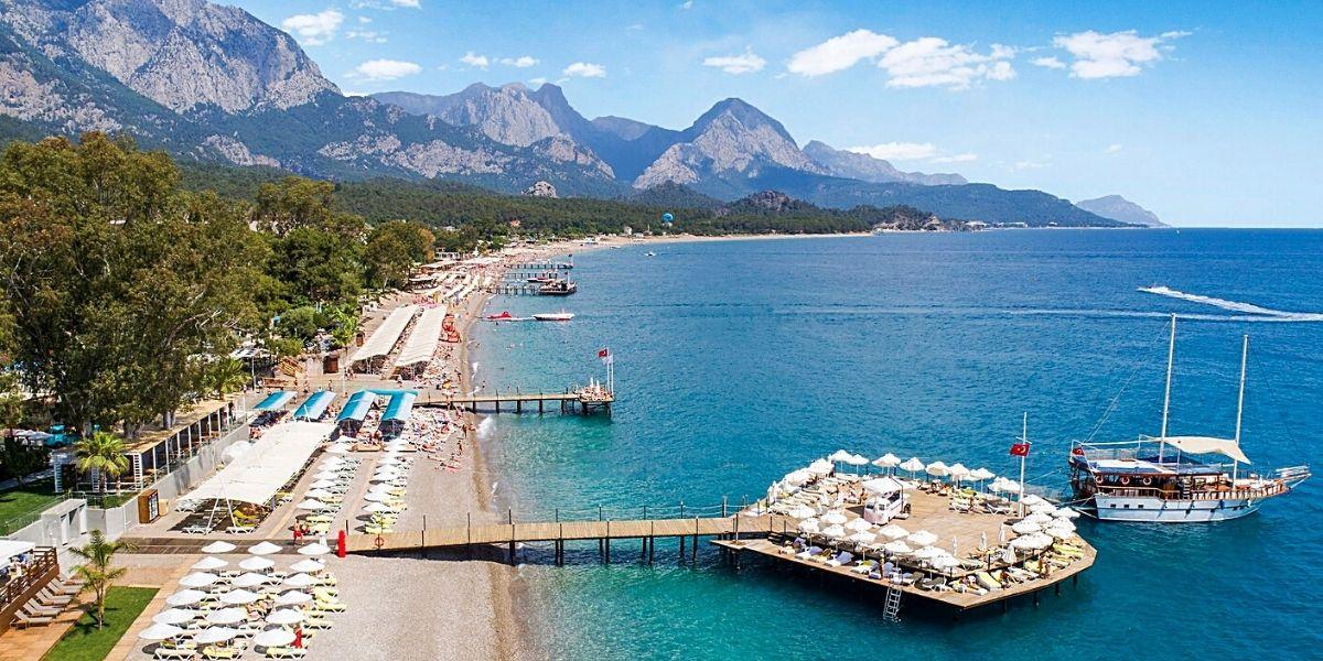 Пляжи курорта Кемер