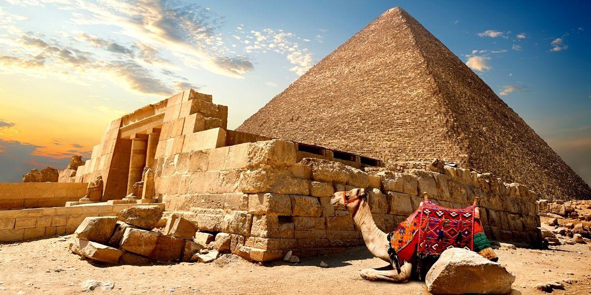 Знаменитые Египетские пирамиды