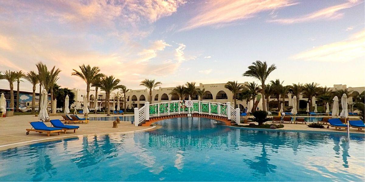 Територія готелю Hilton Marsa Alam Nubian Resort 5*