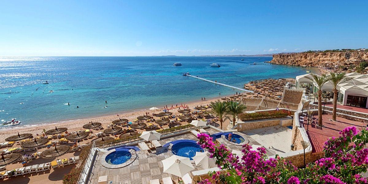 Територія готелю Sentido Reef Oasis Senses Aqua Park Resort 5*