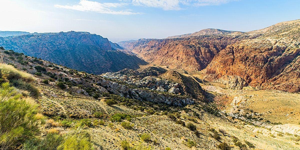 Неймовірно красива долина Ваді-Хаммамат